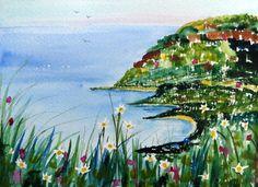 Original Watercolour Painting - COASTAL COVES | eBay