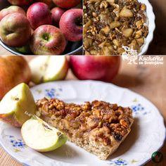 Kuchařka ze Svatojánu: JABLEČNÝ KOLÁČ S OŘECHY Risotto, Oatmeal, Sweet Treats, Apple, Baking, Fruit, Breakfast, Ethnic Recipes, Food