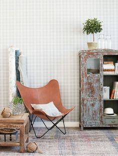 butterfly chair living room - Google Search