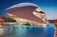The Valencia Opera House (Queen Sofia Palace of the Arts) - Spain by Eric Rousset, via 500px