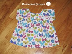 https://flic.kr/p/fMV9un | Ice Cream Top | Oliver + S Ice Cream Dress (as top) sewn by The Finished Garment.  See more photos on my blog.
