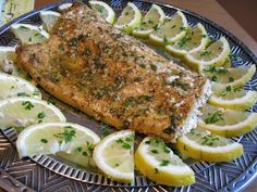 Baked Salmon Recipe! Instead of baking it, I put it on the grill in some tinfoil... Amazing.