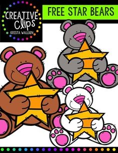 Enjoy these happy bears! Thank you for all the support for my graphics and upcoming paper line, Creative Paper Collection! The images will have high resolution, so you can enlarge them and they will still be crisp. All images are in png formats so they can easily be layered in your