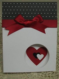 TSC, Valentine, Punch art by irishgreensue - Cards and Paper Crafts at Splitcoaststampers Valentine Love Cards, Valentine Crafts, Valentine Heart, Wedding Anniversary Cards, Wedding Cards, Punch Art Cards, Paper Punch, Making Greeting Cards, Scrapbook Cards
