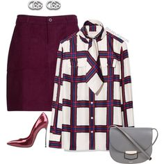 A fashion look from September 2017 featuring Tory Burch blouses, Casadei pumps and CÉLINE shoulder bags. Browse and shop related looks.