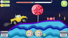 Offroad Jeep Racing On Candy Land 3 ,