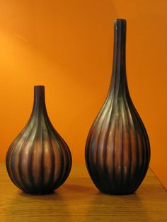 Striped Bottle Vase - by Laguna Furnishings - Accessories, Gifts & More in Westlake Village CA - http://www.lagunafurnishings.com/catalog/accessories