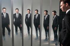 Smoking mirrors - very effective yes. Tom Hiddleston.