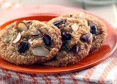 Discover our recipe rated by 17 members. Gluten Free Desserts, Gluten Free Recipes, Almond Chocolate, Chocolate Chip Cookies, Cookie Recipes, Dessert Recipes, Indonesian Cuisine, Gluten Intolerance, Recipe Images
