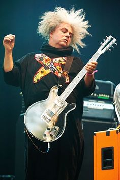 Buzz Osborne of the Melvins  <3 the Melvins forever.  One of the most memorable shows I've ever seen.
