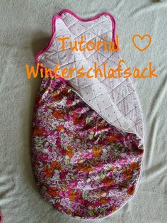 Babyschlafsack Tutorial (Sommer oder Winter)