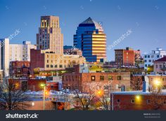 Durham, North Carolina, Usa Downtown Skyline. Stock Photo 289010702…