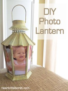 Make your own photo lanterns that Lights Up the Night. #pioneersettler