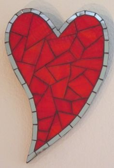 mosaic heart -sweet and simple
