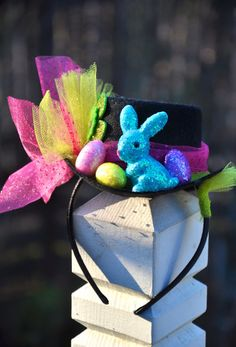 Easter Parade fascinator top hat