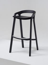 She Said stool _ Mattiazzi Wood Bar Stools, Kitchen Stools, Bar Chairs, Counter Stools, Contemporary Furniture, Cool Furniture, Furniture Design, Kitchen Dining Living, Dining Rooms