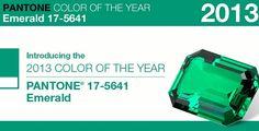 El color del 2013 según pantone: Esmeralda - Color Pantone 2013