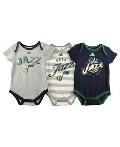 NBA Utah Jazz Womens Horizon Lines TriBlend VNeck Tee Small Green ... 3525d97c8d