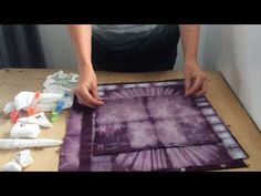 The Slightly Mad Quilt Lady: Shibori Folding Techniques - Tutorial