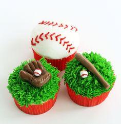 Worth Pinning: Major (or Little) League Baseball Cupcakes