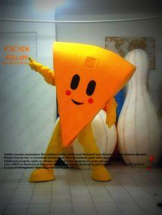 Cheese Mascot Costume Mascot Costumes, Pikachu, Dinosaur Stuffed Animal, Cheese, Toys, Animals, Fictional Characters, Art, Activity Toys