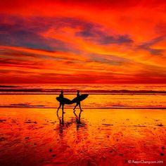 Lava Sky, Encinitas, CA     |       Aaron Chang      |     Fine Art Photography