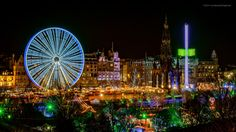 https://flic.kr/p/qc9jdp | Edinburghs Christmas Village | Another couple of shots from the Christmas attractions up on Princes Street, fixed  white balance issue with the previous shots as they were kind of processed in a rush. Lesson learnt there!