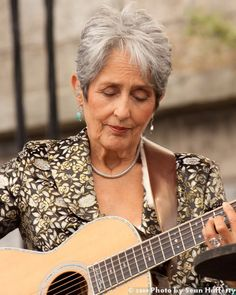 Folk Singing Crone - Joan Baez