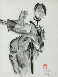 Buy Taekwondo, a Ink on Paper by Dong Jiang Zeng from . It portrays: People, relevant to: paper, to, Taekwondo, chinese, asian , zen, martial arts, fighting, ink, Dao Spirit of fight. Glass bottle was used instead of brush. Chinese ink on paper. Created in July of 2010.