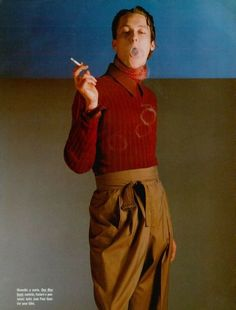 1988 - Jean Paul Gaultier man by William Laxton 4 Per Lui