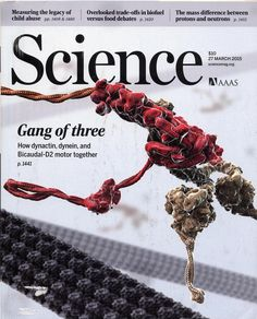 AAAS Science Magazine, March 27, 2015, Back Issue, Gang of Three