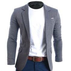 Mens Slim Fit Casual Premium Blazer Jacket (BJ102) http://www.flatsevenshop.com/ #MENSBLAZER #MENSSHIRTS #Mens #Fashion #Blazer #Casual #Premium #SlimFit