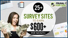 A list of the 25+ Best Survey Sites for 2017. Using these sites will get you paid an extra $600/month or more. Swagbucks, Vindale Research...