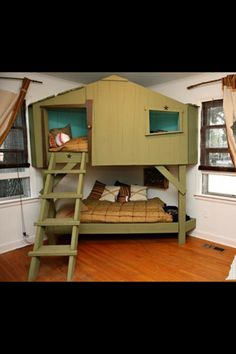 bunk bed hammock, oh that is just awesome! i would have loved this