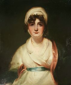"""Sarah Siddons as """"Mrs Haller"""" Theatrical Portrait Early 19th.Century After Sir Thomas Lawrence."""