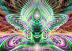 """""""Gaian Overlord Matrix, Emerald Light Body Ultra-Violet Ray"""" - by Erial Ali"""