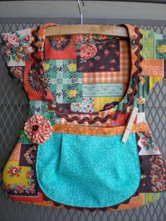 Sweet One of a Kind Double Pocket Clothespin Bags by sunshineidaho on Etsy