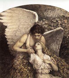 Benda. Charcoal and watercolor. 1920 W.T. Benda