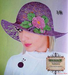 crochet so beauty summer lace hat