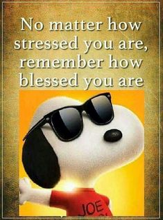 Too blessed to be stressed (Snoopy) Charlie Brown Quotes, Charlie Brown And Snoopy, Peanuts Quotes, Snoopy Quotes, Snoopy Love, Snoopy And Woodstock, Guter Rat, Peanuts Snoopy, Peanuts Cartoon