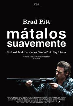 Póster español de #MátalosSuavemente, lo nuevo de Andrew Dominik con Brad Pitt