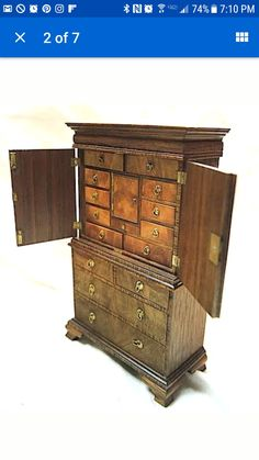 Harold Cudworth dollhouse highboy