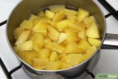 Imagen titulada Make Apple Compote Step Relleno, Cantaloupe, Sweet Potato, Food And Drink, Cooking Recipes, Sweets, Apple, Snacks, Fruit