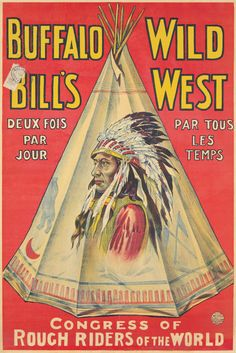 Buffalo Bill's Wild West. 1889