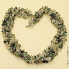 Бисероплетение с натуральными камнями