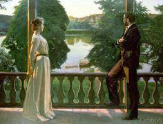 Sven Richard Bergh - Nordic Summer Evening, 1899-1900