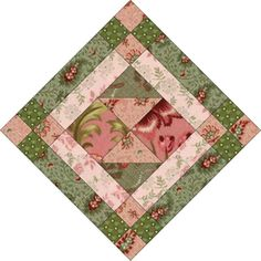 If You Like Framed Quilt Blocks, Try the Easy Odds and Ends Pattern