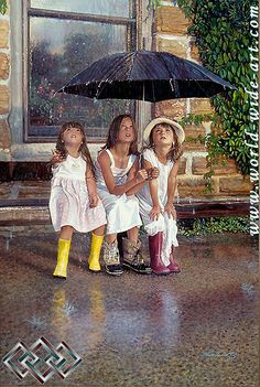 Summer Rain - Steve Hanks - World-Wide-Art.com