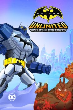 Batman Unlimited: Mechs vs. Mutants Movie Poster - Roger Craig Smith, Chris Diamantopoulos, Will Friedle  #BatmanUnlimited, #MechsVsMutants, #RogerCraigSmith, #ChrisDiamantopoulos, #WillFriedle, #CurtCeda, #ActionAdventure, #Art, #Film, #Movie, #Poster