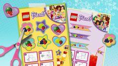 feest versiering - Friends LEGO.com